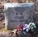 "Profile photo:  Pleasant Basil ""P. B."" Hood"