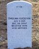 "Thelma Eugenia ""Jean"" <I>Walker</I> Bauman"