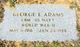 CBM George E Adams