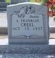 Profile photo:  A Franklin Creel