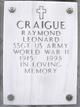 Raymond Leonard Craigue