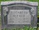 Elizabeth <I>Waechter</I> Becker