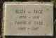 """Elizabeth Jane """"Eliza"""" <I>Dodds</I> Tade"""