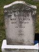 Mary Elizabeth Martin