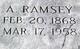 Profile photo:  A Ramsey
