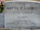 """Martha """"Mattie"""" <I>Phillips</I> Godbee"""