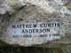 Matthew Curtis <I> </I> Anderson,