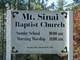 Mount Sinai Baptist Church Cemetery