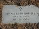 Annie Ruth Russell