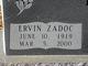 "Ervin Zodac ""Puddin"" Kirk"