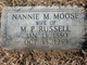 Nannie May <I>Moose</I> Russell