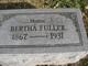 Profile photo:  Bertha Inez <I>Adams</I> Fuller