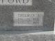 Thurman A Williford