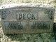 "Profile photo:  Edna Elizabeth ""Lizzie"" <I>Crum</I> Beck"