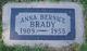Anna Bernice <I>Smith</I> Brady