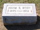 Profile photo:  Adam S. Body