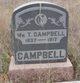 William Travis Campbell