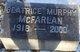 "Beatrice Ann ""Bee"" <I>Murphy</I> McFarlan"