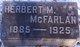 Herbert Mount McFarlan