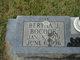 Profile photo:  Bertha <I>Justice</I> Bocook