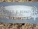 Billie Fred Berkey