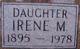 Irene M Abnet