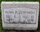Profile photo:  Alma H. Donohoo