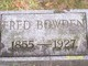 Fred Bowden