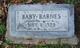Profile photo:  Baby Barnes
