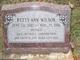 Profile photo:  Betty Ann Wilson