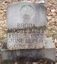 Profile photo:  Rhoda <I>Moore</I> Baity