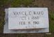 Vance C Ward