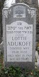 Profile photo:  Lottie <I>Klevens</I> Adukoff