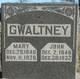 Mary Ann Elizabeth <I>Gammon</I> Gwaltney