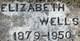 Elizabeth Jane <I>Hanold</I> Wells