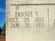 Profile photo:  Fannie Virginia <I>Day</I> Henington