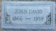 John David DeWees