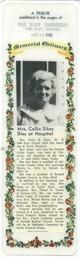 Callie Modene <I>Cagle</I> Sikes