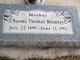 Naomi Herbert <I>Thomas</I> Bromley