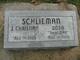 "Anna Sophie Dorothea ""Dora"" <I>Dahlman</I> Schlieman"