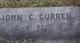 Pvt John Curren