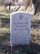 Sgt Raymond Warren Wangrud