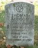 Profile photo:  Thomas Addison