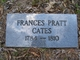 Profile photo:  Frances <I>Pratt</I> Cates