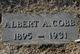 Profile photo:  Albert Alfred Cobb