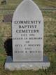 Community Baptist Cemetery