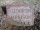 Elizabeth <I>Whaley</I> Harrison