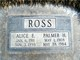 Alice E. Ross