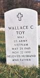 Maj Wallace C. Toy