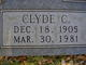 Profile photo:  Clyde Charles Dye